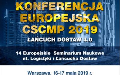 Konferencja CSCMP 2019 – łańcuch dostaw 4.0